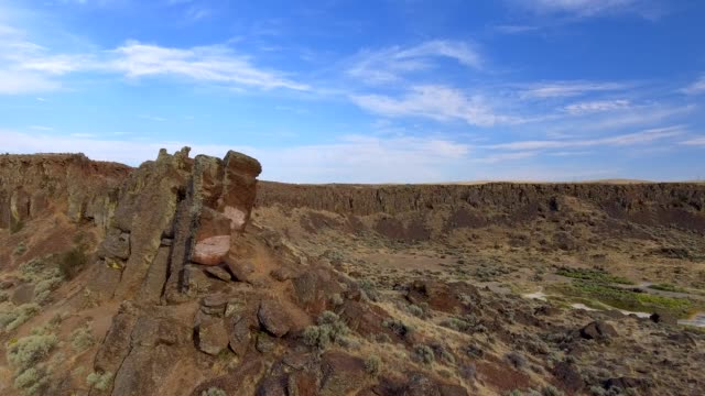 Frenchman Coulee in Quincy Washington State USA