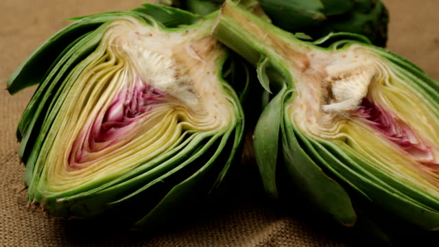 Fresh artichokes video