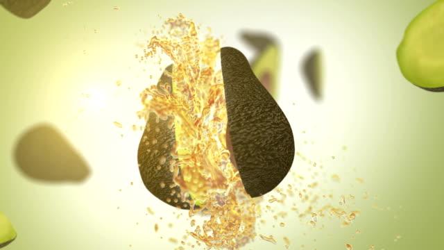 Fresh Avocado (Slow Motion)