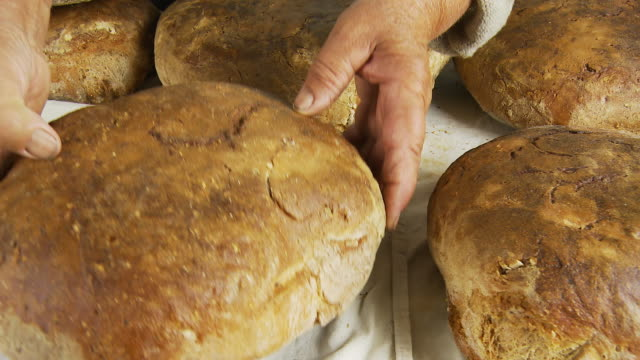 HD DOLLY: Fresh Baked Peasant Bread video
