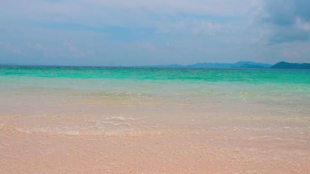 fresh beach ,tropical island - krajobraz morski filmów i materiałów b-roll