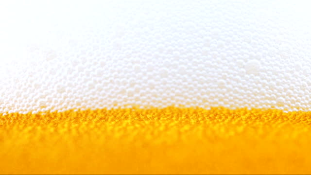 Fresh beer. Close up view. video