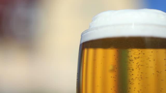 HD-frisches Bier – Video