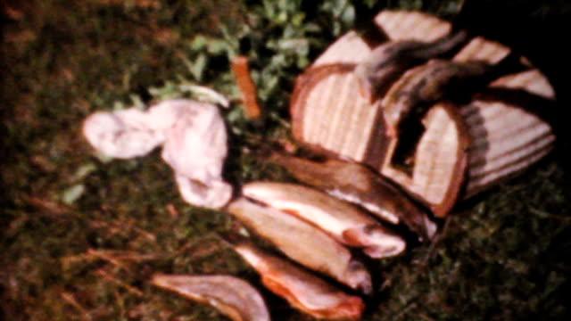 Fresh Catch Of Fish-1961 Vintage 8mm film video