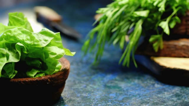 Fresh herbs for cooking video