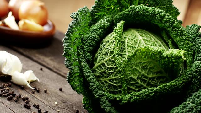 Fresh kale video