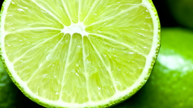 Fresh Lime close up