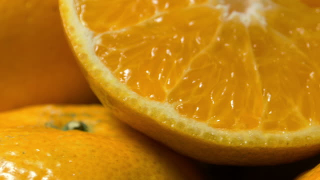 Fresh oranges video