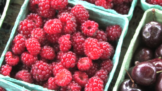 Fresh Raspberries (HD) video