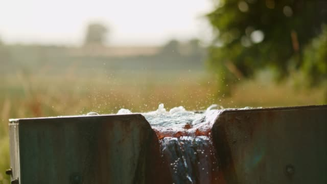 MS Fresh water bubbling from source Fresh water bubbling from source. MS,slow motion. purified water stock videos & royalty-free footage