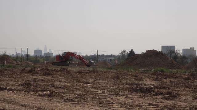 Freshly Dug Earth for Construction Site