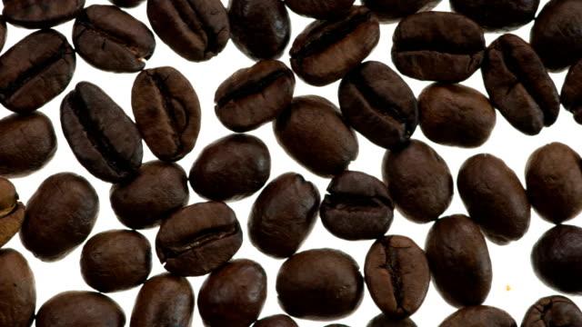 Freshly Roasted Coffee Grains video