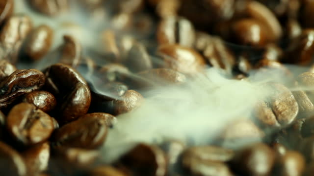 fried coffee beans video