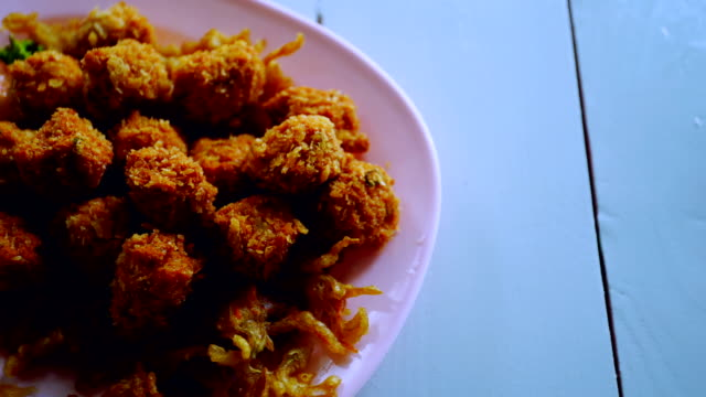Fried Fish Patty Cooking video