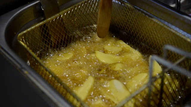 fried potatoes video
