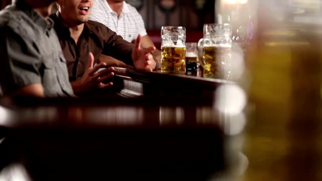 Friends in the Pub celebrating video