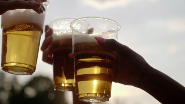 乾杯の友人 - 飲み会点の映像素材/bロール