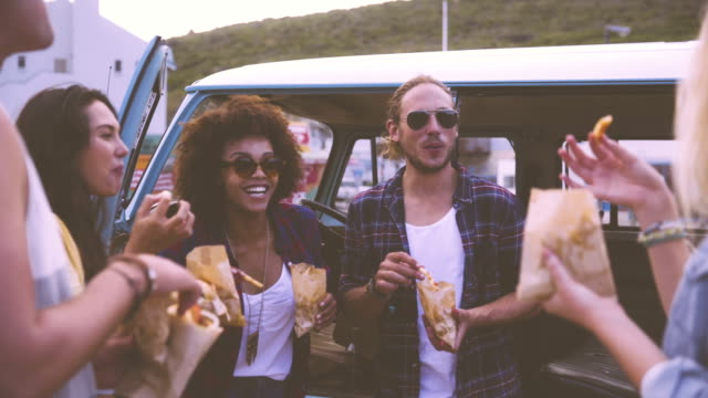 Freunde auf roadtrip – Video