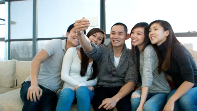 Friends social networking video