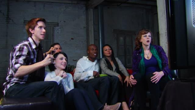 Friends Watch TV - Right Celebration WS video