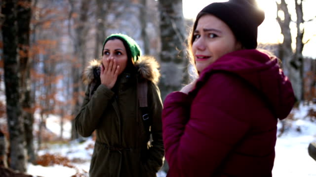 Frightened Girls In Woods video