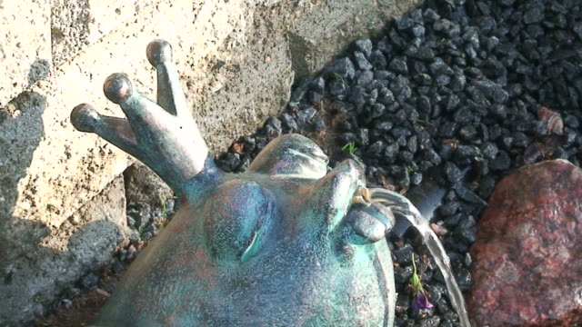 Frog fountain two