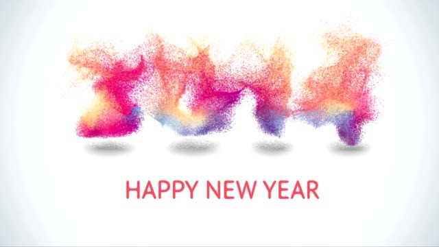 Royalty free new year day hd video 4k stock footage b roll istock from 2014 to 2015 happy new year 2015 colorful greeting video video m4hsunfo