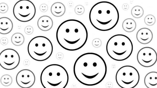 trauriges gesicht: von glück und traurigkeit (überleitung) - smiley stock-videos und b-roll-filmmaterial