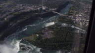 istock from Helicopter window to see Niagara falls 1200813553