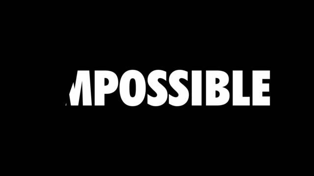 不可能から可能まで - 幸運点の映像素材/bロール