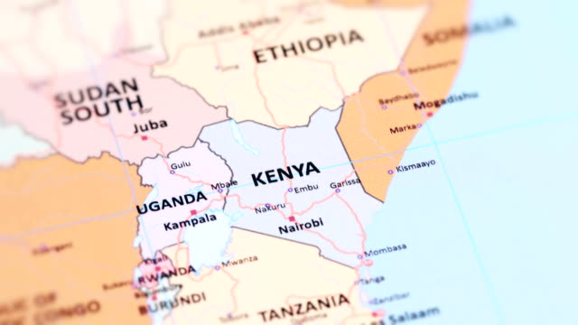 Royalty free kenya map hd video 4k stock footage b roll istock africa kenya from world map video gumiabroncs Image collections