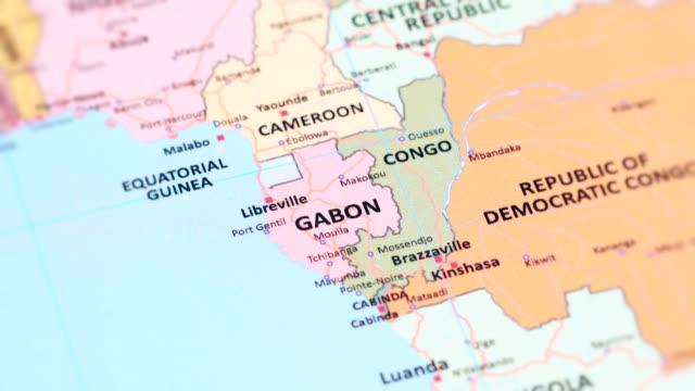 Gabon World Map.Africa Gabon From World Map Stock Video More Clips Of 4k