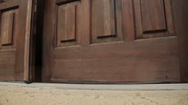 Front Door  front door stock videos & royalty-free footage
