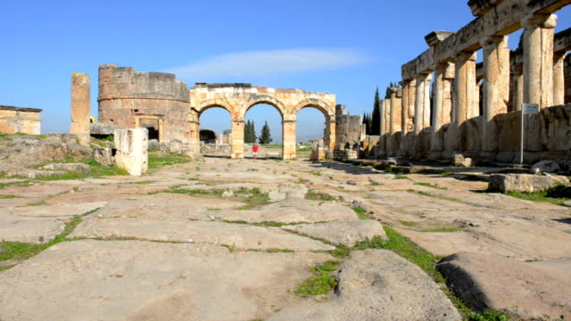 Front gate of Hierapolis video