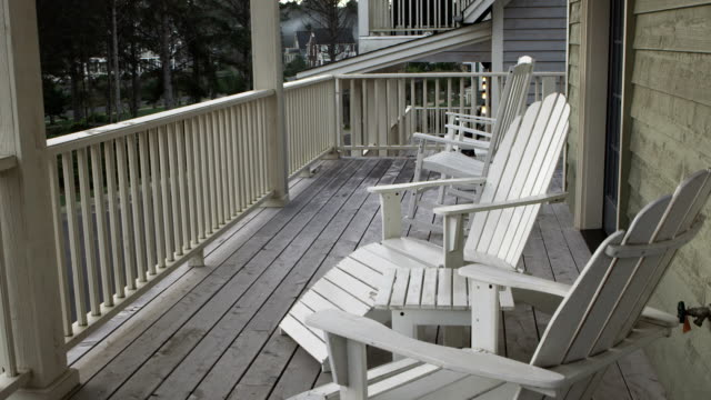 Front Porch Beach house porch porch stock videos & royalty-free footage