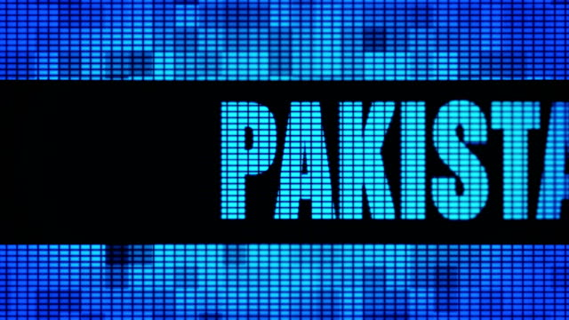PAKISTAN Front Text Scrolling LED Wall Pannel Display Sign Board