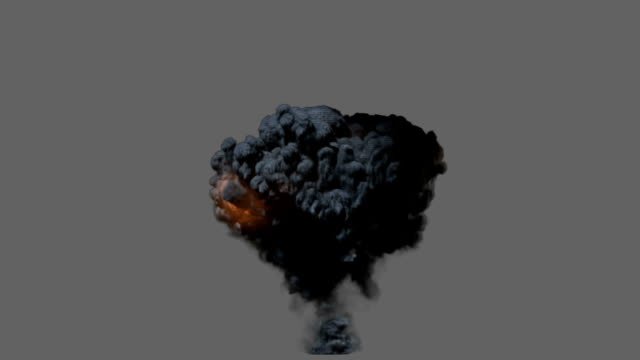 Front view explosion video