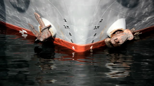 front view of a ship video