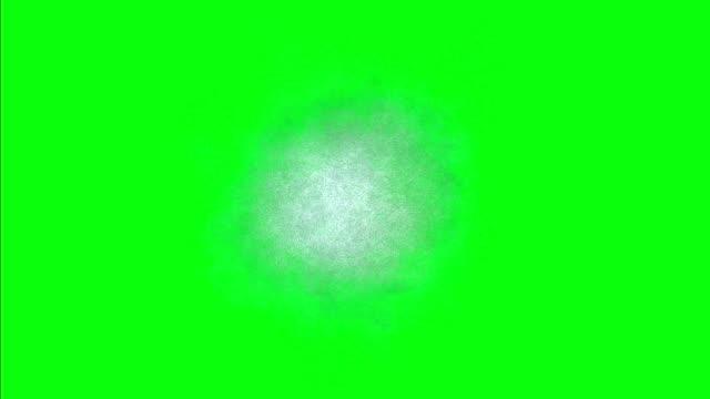 sfondo gelo sullo schermo verde - brina ghiaccio video stock e b–roll