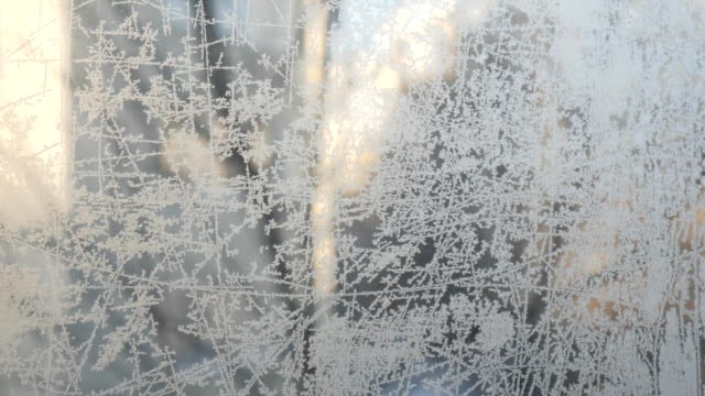 Frost draws on glass patterns video