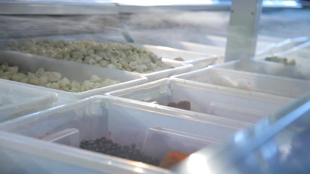 Frozen Food in the supermarket video