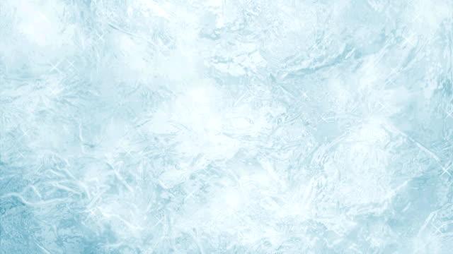 frozen ice background - иней замёрзшая вода стоковые видео и кадры b-roll