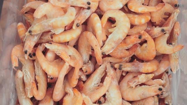frozen shrimp on the market
