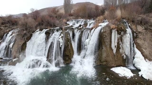 冷凍の滝 - アナトリア点の映像素材/bロール