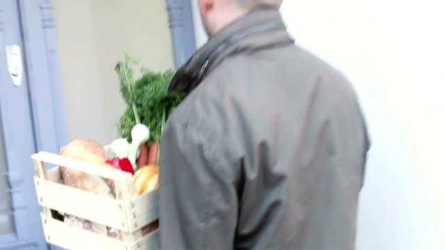 Fruit and Vegetable delivered to the door. video