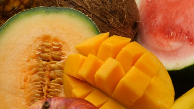 Fruit natural sweet healthly food group video