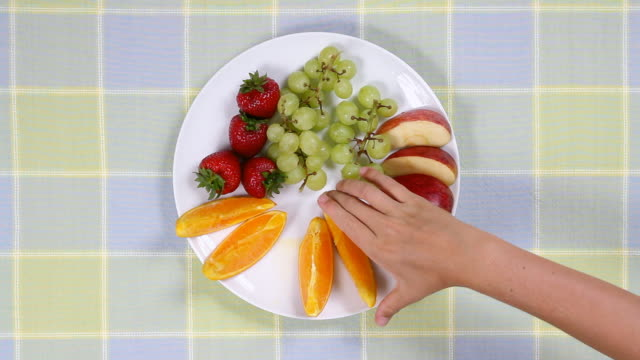 Fruit Snack  snack stock videos & royalty-free footage