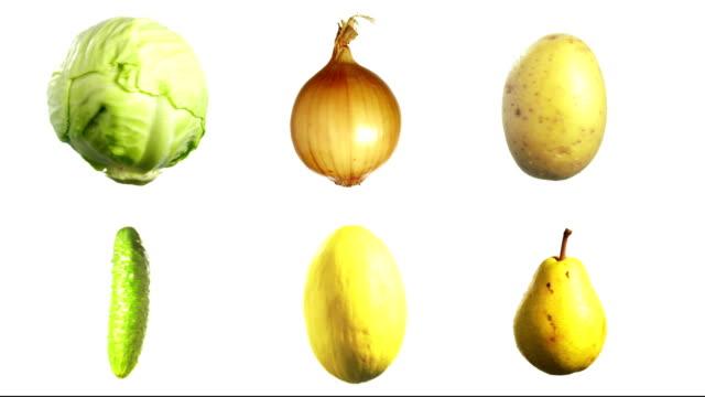 Obst und Gemüse – Video
