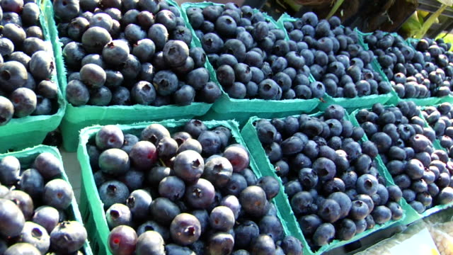 Fruits Farmers Market montage HD video