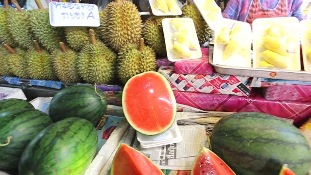 Fruits market,chiang mai,Thailand video